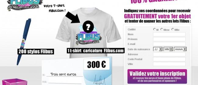 Gagner 300€ avec Flibus.com