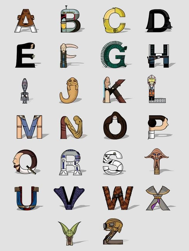 Alphabet Star Wars