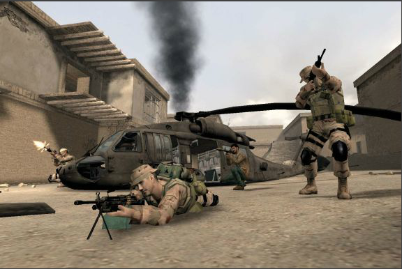 Serious game America's Army