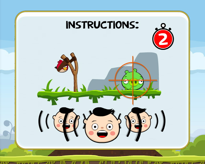 Crowd game Angry Birds