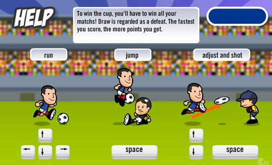 Jeu de foot sur jeux.com