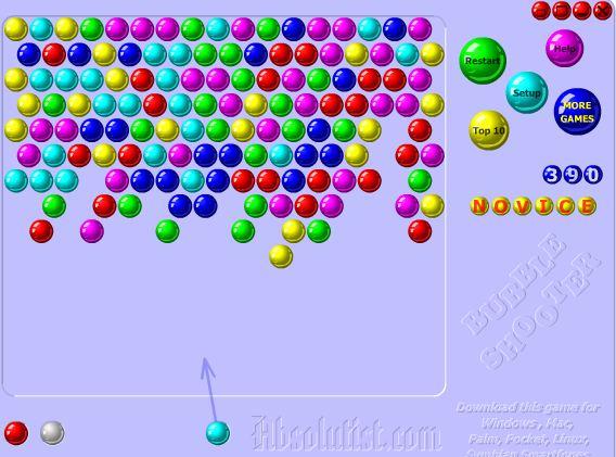 Jeu Bubble Shooter