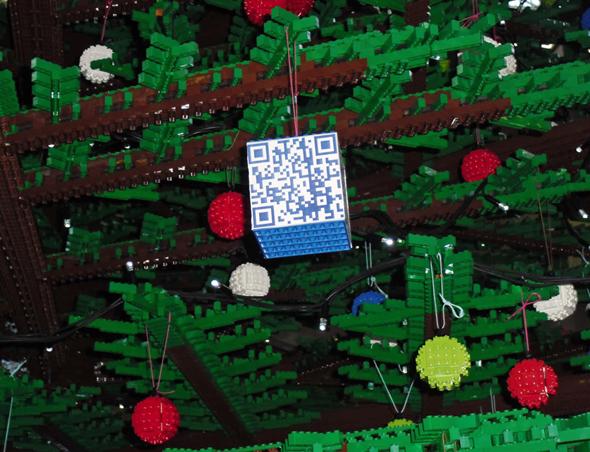 Sapin de Noel LEGO Londres