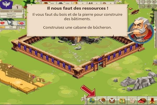 Goodgame Empire construction