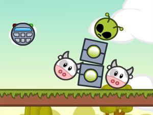Jeu Cows vs Aliens