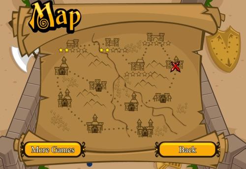 La carte du monde du jeu gratuit