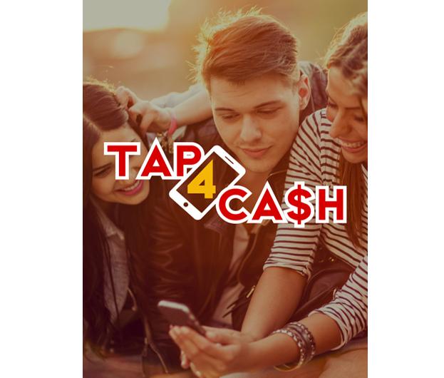 L'appli Tap4Cash