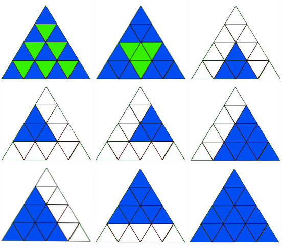solution enigme triangle