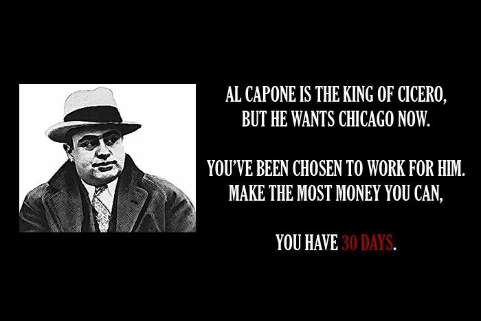 Pas très commode, l'Al Capone.