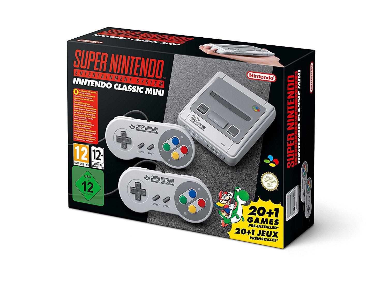 SNES Classic Mini Box version