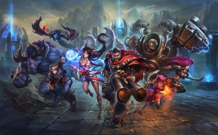 League of Legends promo art