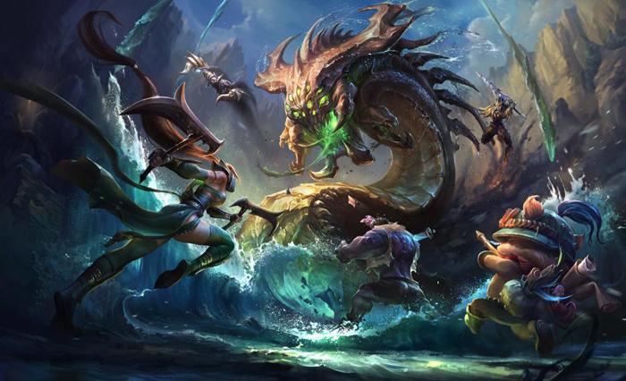 League of legends Promo art 2