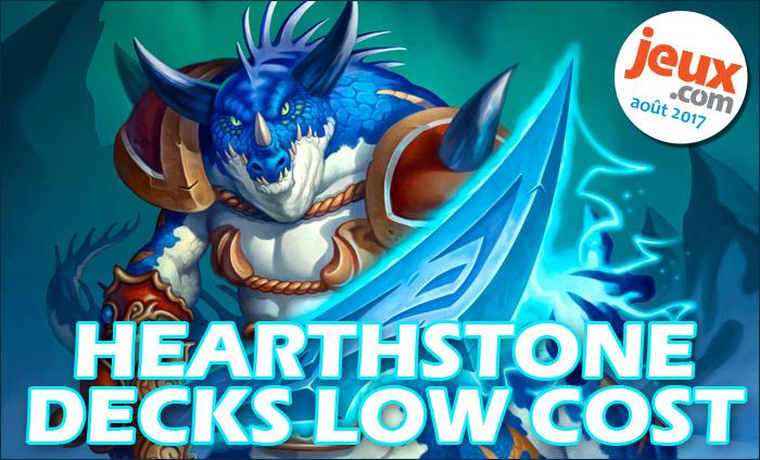 decks low cost hearthstone