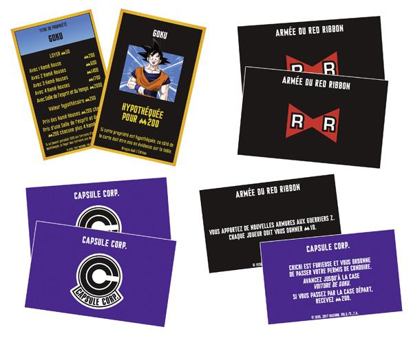 Cartes Monopoly DBZ