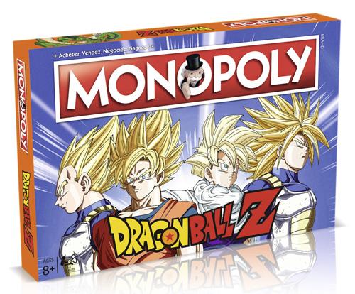 Boite Monopoly DBZ