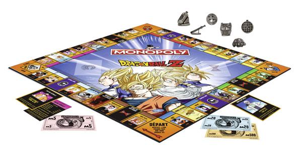 Plateau Monopoly DBZ