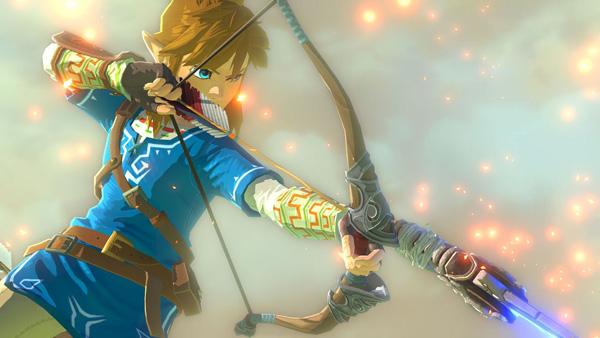 The Legend of Zelda : Breath of the Wild link
