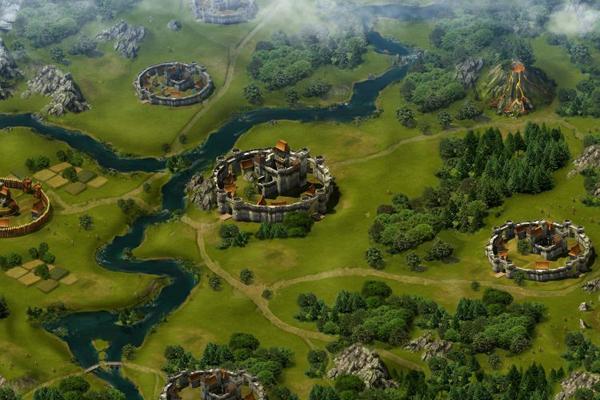 Tribal Wars 2 village