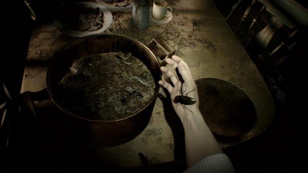 Resident Evil VII roach