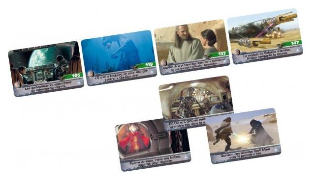 timeline star wars cartes