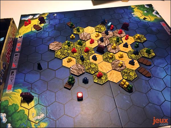 The Island plateau de jeu