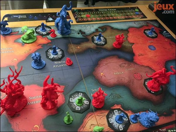 Cthulhu Wars combat