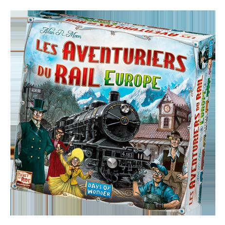 Les Aventuriers du Rail boite