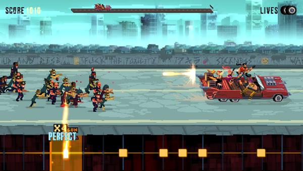 Double Kick Heroes début