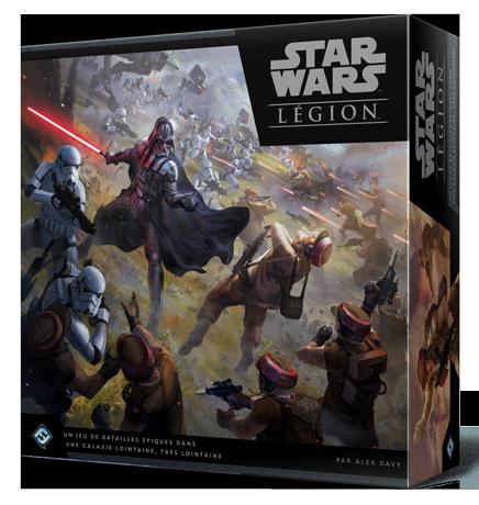 Star Wars Legion aperçu de la boite