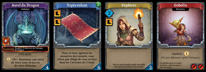 Clank! cartes