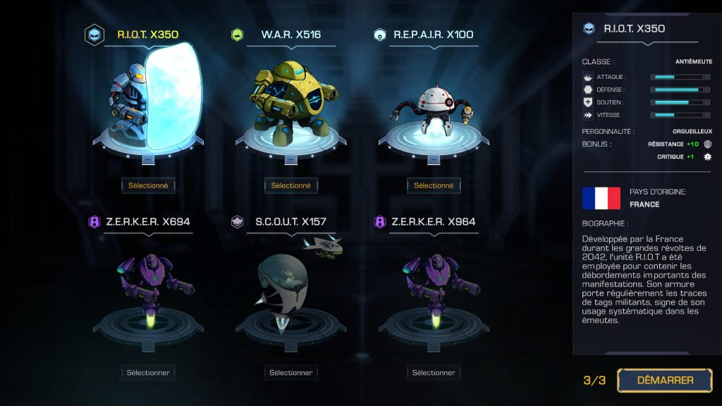 choix robots robothorium