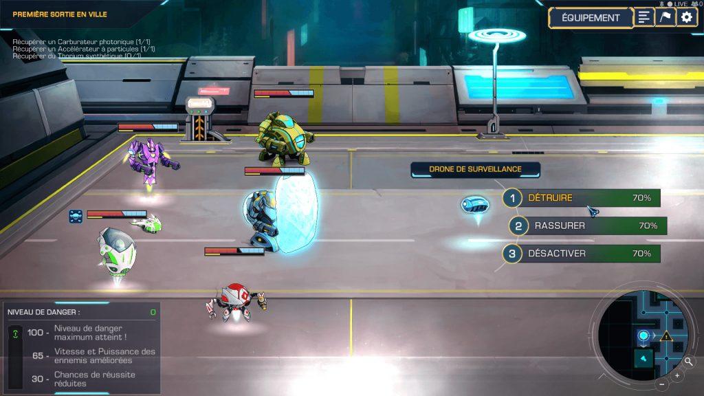 combat robothorium