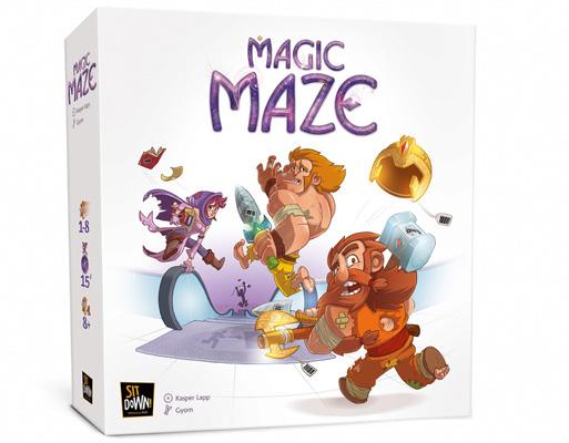 Magic Maze Boite