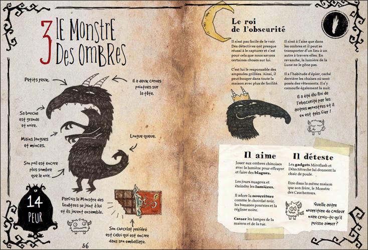 Petits Détectives de Monstres - Monstre des ombres