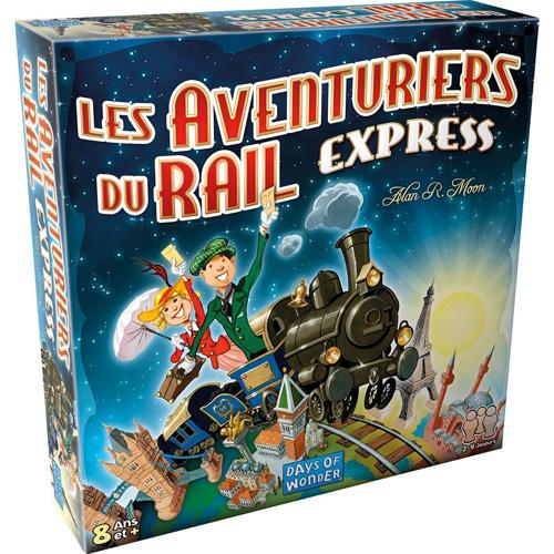 Aventuriers du rail express Boite