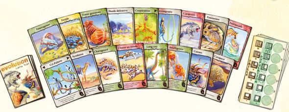 Evolution Cartes