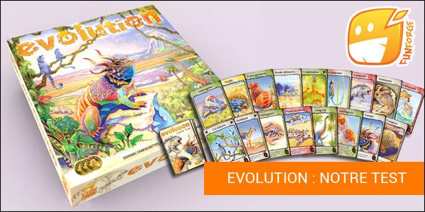 Evolution jeu de Funforge