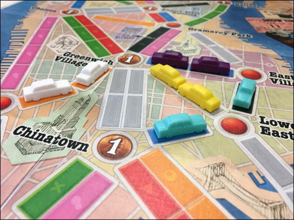 Aventuriers du Rail New York Taxis