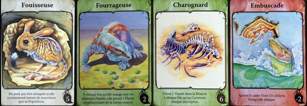 Evolution traits