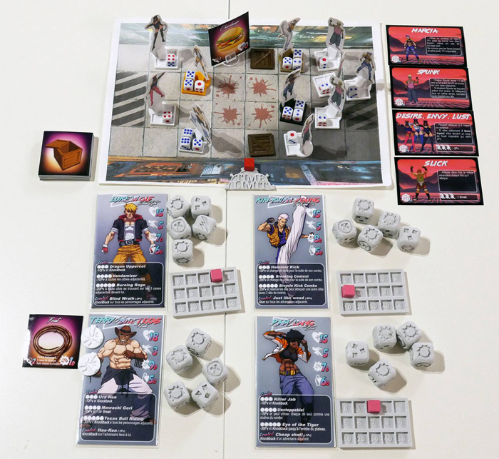 Streets of Dice plateau