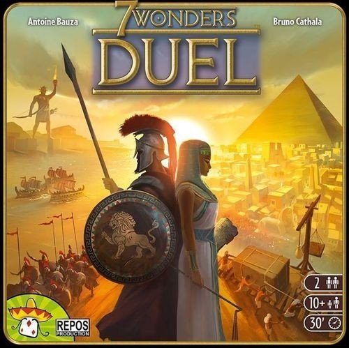 7 Wonders Duel en promo