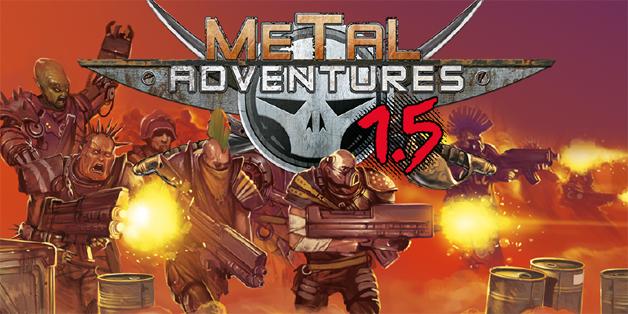 Metal Adventures titre