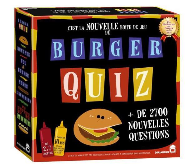 Burger Quiz en promo