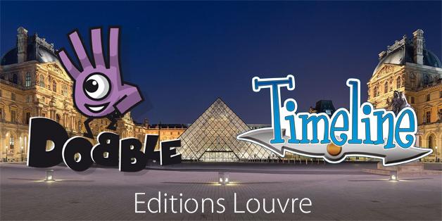 Dobble Timeline Editions Louvre