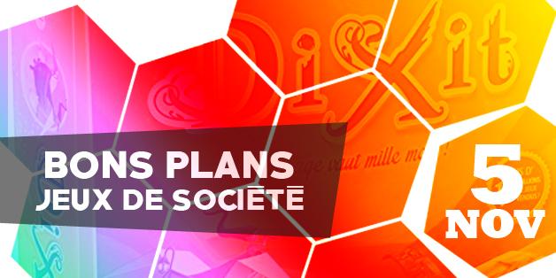 Jeux de société en promos - 5 novembre 2018