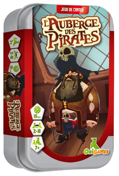 L'auberge des pirates - Origames - boite
