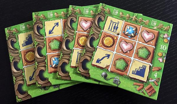 Gingerbread House plateaux de jeu personnels
