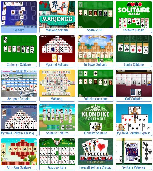 meilleurs jeux de solitaire