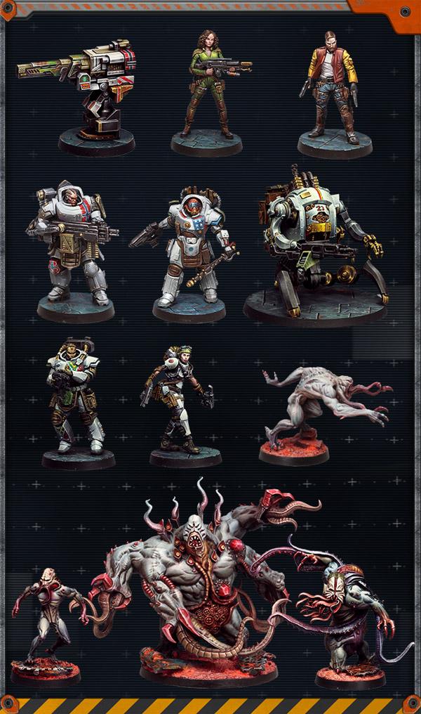 Zombicide-Invader-figurines