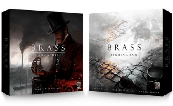 Brass Lancashire et Brass Birmingham